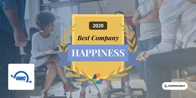 OWC Named Happiest Employees by Comparably