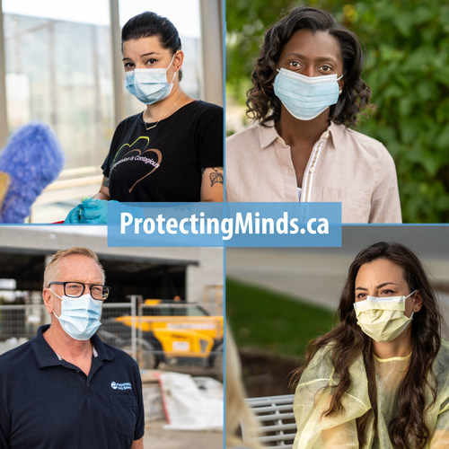 Protecting Minds Campaign Addresses The Mental Health Pandemic Due to COVID-19 (CNW Group/Ontario Shores Centre for Mental Health Sciences)