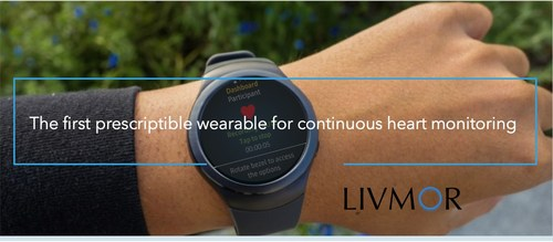 LIVMOR receives FDA clearance for the world's first prescriptible wearable for continuous heart monitoring. In a multi-center clinical trial with 269 enrolled patients, the LIVMOR Halo(TM) was 100% sensitive in identifying patients with AF and 93% specific in identifying patients without AF.