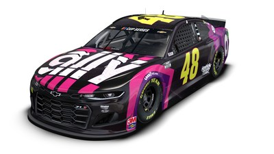 Ally signature paint scheme – Ally is literally bringing the fans along for Jimmie Johnson's final Martinsville race with 10,000 fan signatures covering a special No 48 Ally Chevy paint scheme