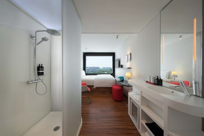 Smartly designed guest room for business and leisure travellers.