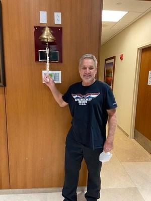 Mark Herrick, ProCure's 5,000th patient.