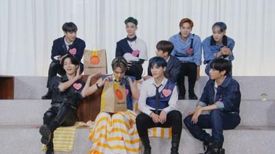 "McDonald's presents 'Crush Moment with The Boyz"" during KCON:TACT Season 2."