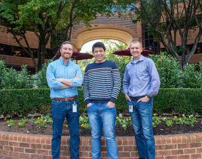 Prometheus Group management From left to right: Ed Mason: Chief Revenue Officer, Eric Huang: Founder and CEO, Jay Golonka: Interim CFO