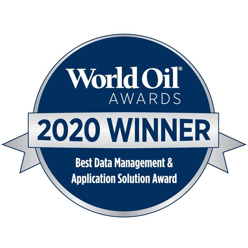 REVEAL ENERGY SERVICES : Winner of World Oil Awards 2020 - Best -Data-Management--Application-Solution