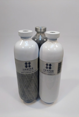 Luxfer Gas Cylinders has launched new non limited life L6X medical cylinders. (PRNewsfoto/Luxfer Holdings PLC)