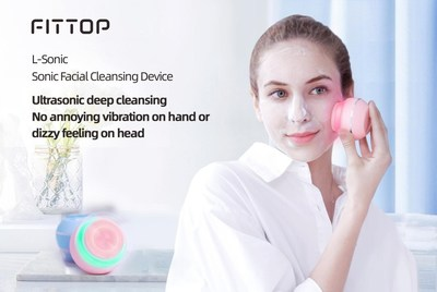 Utra sonic deep cleansing brush - No annoying vibration on hand or dizzy feeling on head