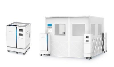 El nuevo pabellón portátil sRoom de JUD care es una solución revolucionaria para el aislamiento de pacientes, que le permite al personal médico habilitar habitaciones de aislamiento de emergencia rápidamente en distintas ubicaciones. (PRNewsfoto/JUD care)
