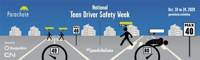National Teen Driver Safety Week 2020 (CNW Group/Parachute)