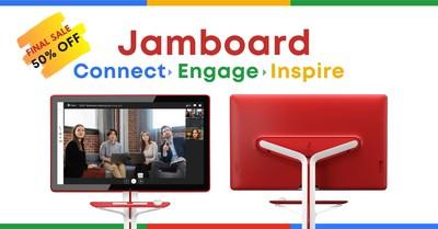 Google Jamboard consigue que mantener más empleados en casa debido a la Covid-19 tenga un menor coste