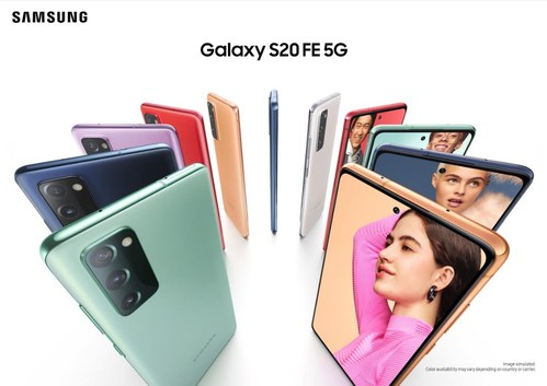 Samsung Galaxy S20 FE 5G   Samsung Electronic Canada Inc. (CNW Group/Samsung Electronics Canada Inc.)