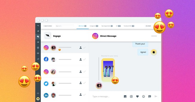 Falcon.io Launches Instagram Messaging Support
