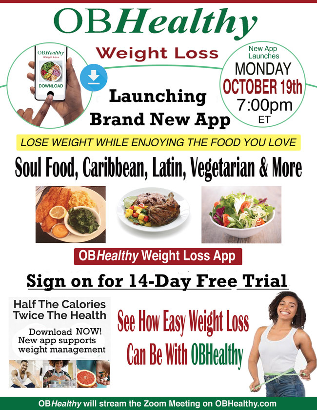 Eat the Foods You Love With the New OBHealthy Weight Loss App