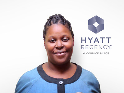Katrina Minnis, GRA at Hyatt Regency McCormick Place in Chicago, is the recipient of the first annual Guest Room Attendant Excellence Award from UMF Corporation