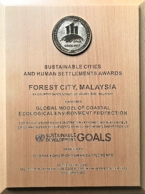 Forest City - Global Model of Coastal Ecological Environment Protection 2020