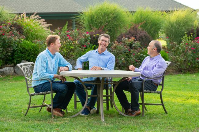 Amaze Media Labs founders, Robert Tuchman, Brett Sklar and Stephen Master
