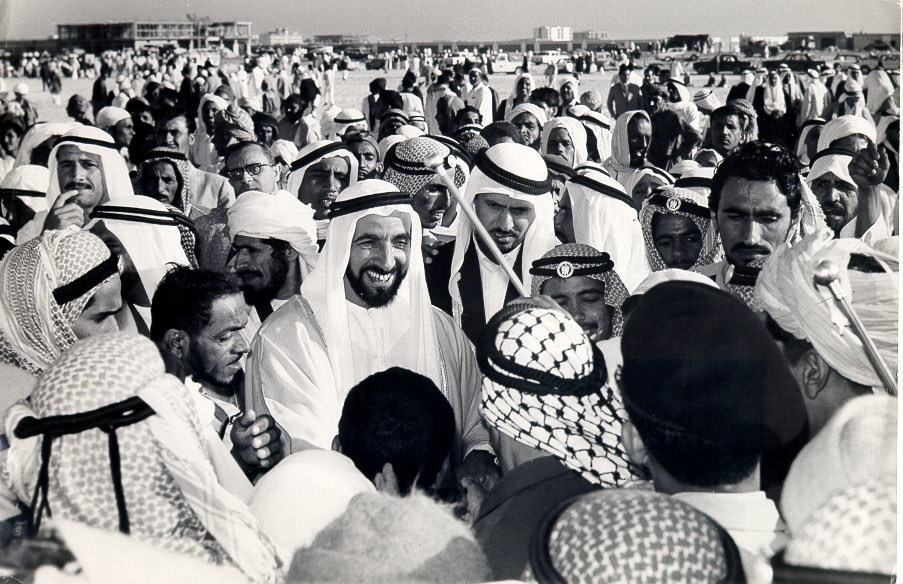 Sheikh Zayed bin Sultan al Nahyan, the late ruler of Abu Dhabi and founder of the United Arab Emirates
