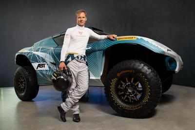 CUPRA e-ambassador Mattias Ekström will be the male driver of the brand in the Extreme E championship