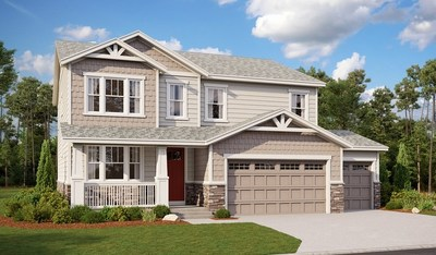 The Hemingway, modeled at The Aurora Highlands in Aurora, Colorado, is one of Richmond American's most popular floor plans.