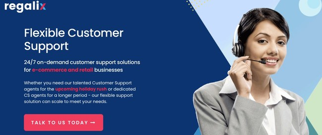Regalix Announces 24/7 On-Demand Flexible Customer Support Agents for e-Commerce and Retail Companies for the Upcoming Seasonal Rush