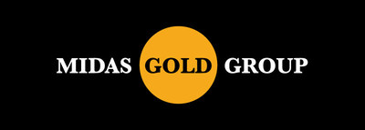 Midas Gold Group logo