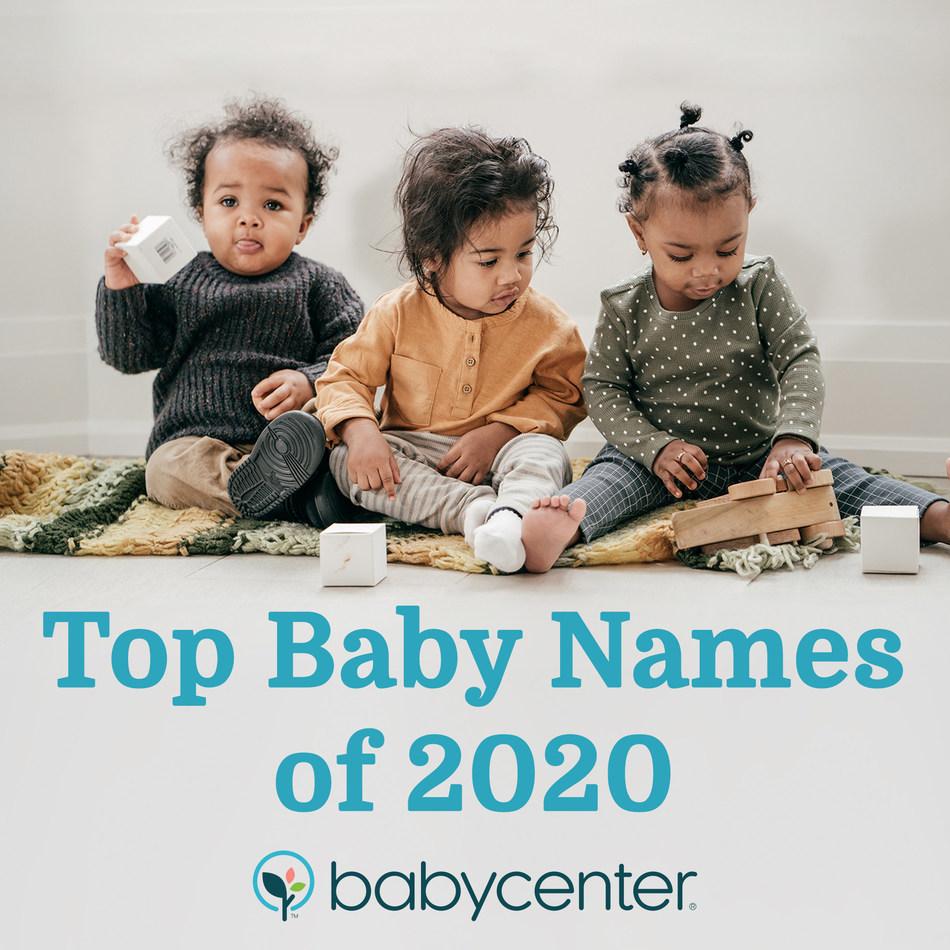 BabyCenter® Reveals Top Baby Names of 2020