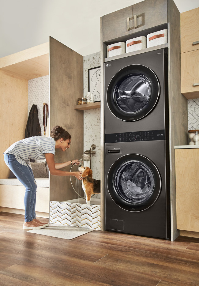 LG Electronics USA is modernizing laundry with the rollout of the revolutionary LG WashTower™ — the sleek, single-unit laundry solution that takes up half the floor space while tackling ultra-large loads.