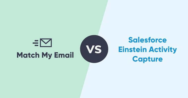 Match My Email vs Salesforce Einstein Activity Capture