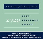 NI Commended by Frost & Sullivan for Pioneering Testing Technologies for Autonomous and Electric Vehicles