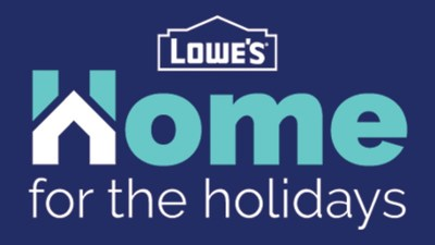 """In a year that hasn't delivered anything close to """"usual,"""" Lowe's is giving new meaning to the holiday shopping season by inspiring customers to gift back to the place that has meant so much this year: home."""