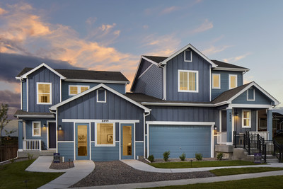 New paired homes in Parker, Colorado | Alder Village, by Century Communities