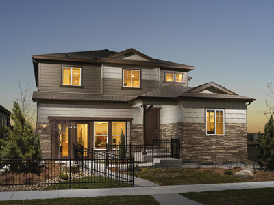 New two-story home in Parker, Colorado | Enclave at Pine Grove, by Century Communities