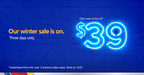Southwest Airlines Announces Three-Day $39 WOW Sale For Winter Travel