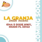 New La Granja Restaurant Opens in Miami at 6144 S Dixie Hwy South Miami for Lunch and Dinner