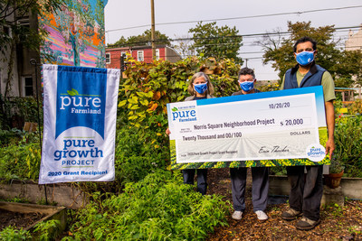 Philadelphia non-profit receives grant to increase community access to locally grown produce. Credit: Veracity Studios