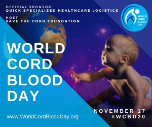 November 17th is World Cord Blood Day 2020