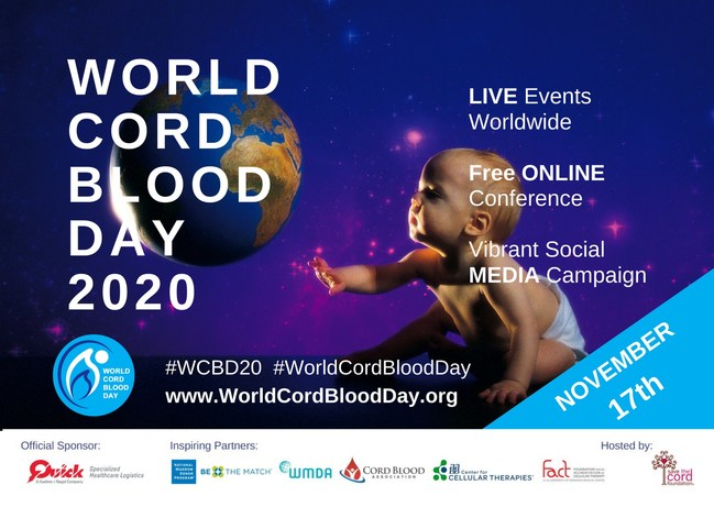 Register now on Eventbrite. Free online conference featuring leading transplant doctors and cord blood industry experts. Speakers to include: Dr. Joanne Kurtzberg, Dr. Katy Rezvani, Dr. Jonathan Gutman, Dr. Leland Metheny and more.