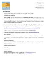 Josemaria to Present at SpareBank 1 Markets Webinar on Thursday, October 22 (CNW Group/Josemaria Resources Inc.)