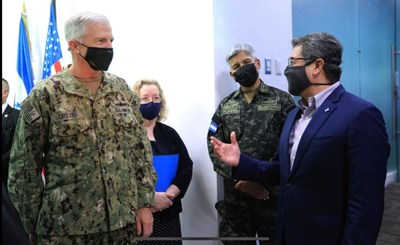 US Southern Command chief congratulated Honduras for its successes in an operation against drug trafficking and organized crime