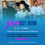 """ESSENCE and Pepsi Host 2-Day """"She Got Now"""" Virtual Homecoming Event"""