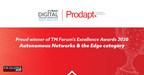Prodapt ist stolzer Gewinner des TM Forum Excellence Award 2020 in der Kategorie Autonomous Networks and The Edge