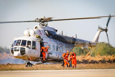 Liaoning acelera la construcción de un sistema de rescate para emergencias aeronáuticas por incendio