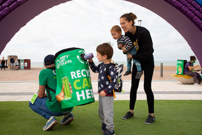 Recent Every Can Counts Campaign image from this year in Brighton