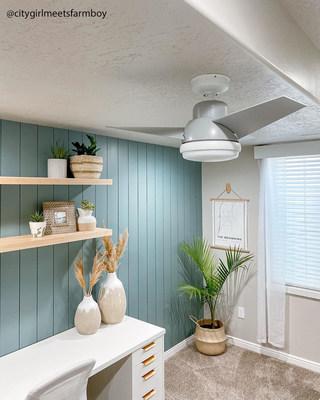 Valda ceiling fan from Hunter Fan Company