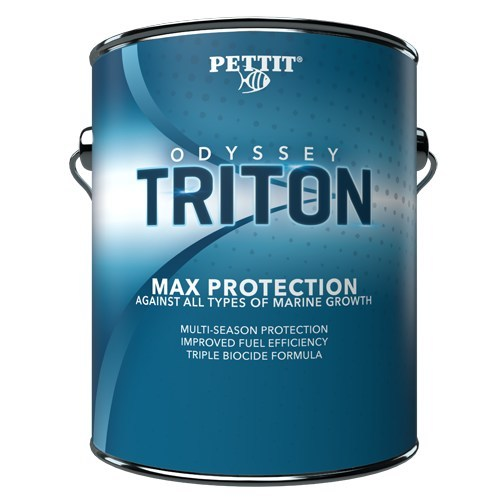 Pettit Marine Paint Develops The Most Effective Anti Fouling Paint To Hit The Market In Many Years Odyssey Triton