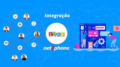 Legenda: Com a integração, os usuários podem ligar em um clique, registrar chamadas e adicionar informações dentro da ligação.