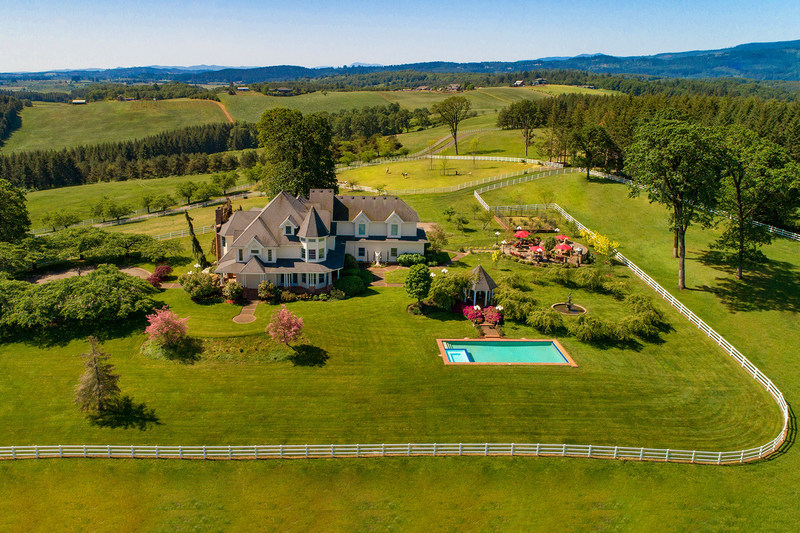 Located outside Portland in Oregon's Willamette Valley wine country, this 180-acre estate will be sold at luxury auction® on October 24, 2020. Platinum Luxury Auctions is managing the sale with listing brokerage Cascade Sotheby's International Realty. The property has recently been listed for $3.9 million, but will be sold at auction to the highest bidder without reserve. Learn more at OregonLuxuryAuction.com.