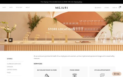 SoundCommerce Launches SoundProfit 360: Real-Time Profit Optimization for Retailers and Consumer Brands. DTC Jewelry Brand Mejuri Employs SoundCommerce to Optimize Profit across DTC Commerce, Retail Stores.