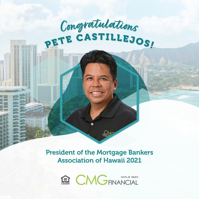 Pete Castillejos named President of the Mortgage Bankers Association of Hawaii