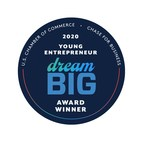 Teen Hustl Honored by U.S. Chamber of Commerce as 2020 Dream Big Young Entrepreneur Achievement Award Winner